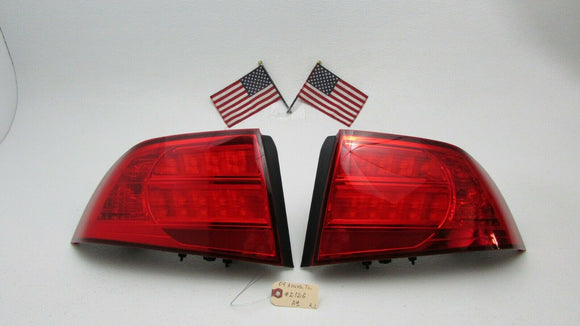 04 05 06 ACURA TL RIGHT & LEFT SIDE TAILLIGHT TAIL LIGHTS NO LED BOARD OEM