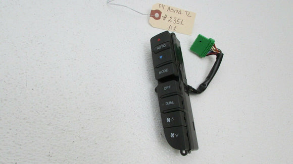 04-08 Acura TL Left Heater Air A/C Climate Temperature Control Buttons OEM
