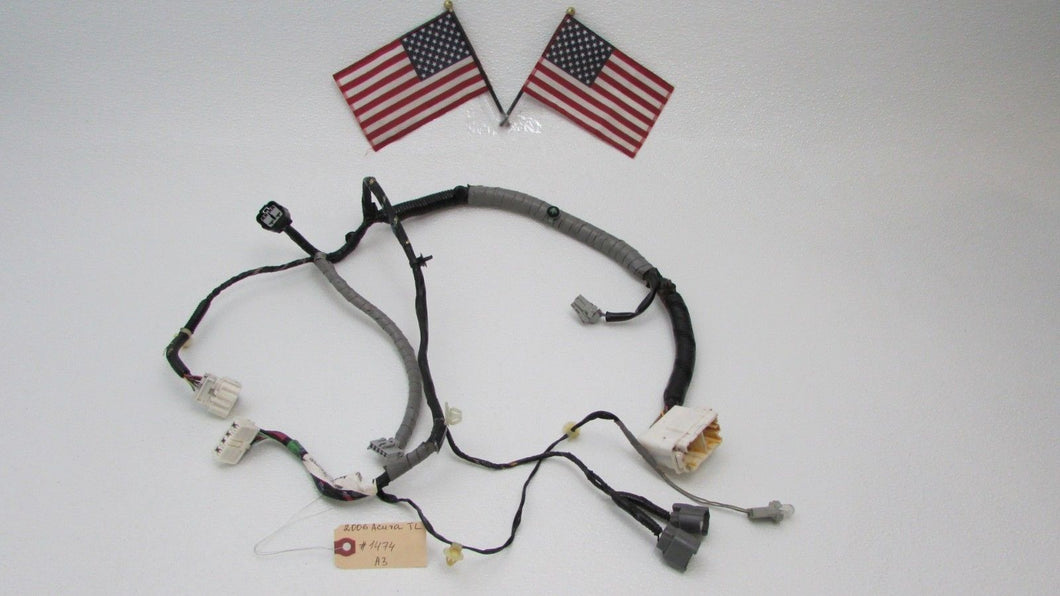 04-08 Acura TL Front Right Peng Door Wire Harness Wiring ... on