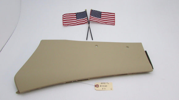 04 05 06 07 08 Acura TL CENTER CONSOLE LEFT BASE SIDE COVER TRIM BEIGE OEM