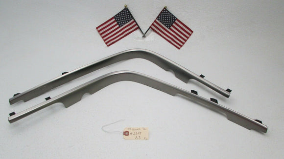 04 05 06 07 08 Acura TL Right & Left Front Side Center Console Trim Grey OEM
