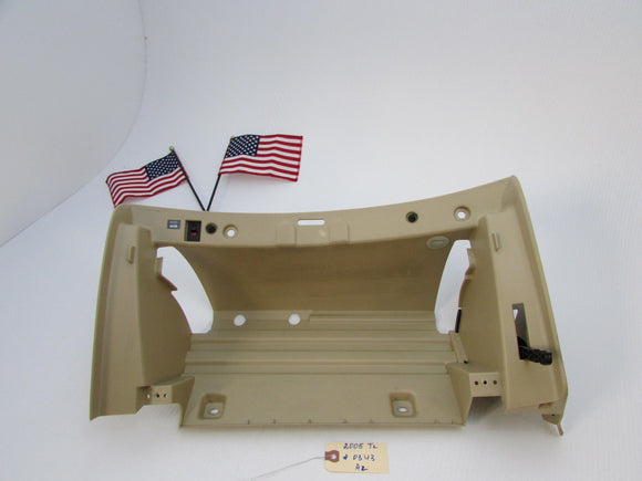 04 05 06 07 08 Acura TL GLOVE BOX GLOVEBOX COMPARTMENT INNER TRIM TAN OEM A2