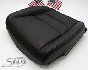 For 05-08 Acura TL Driver LT Seat Bottom Replacement Cover Perforated PU Leather