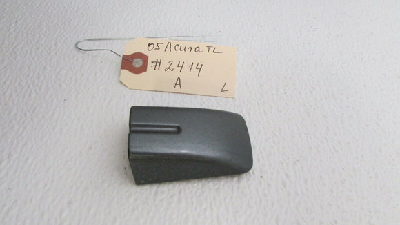 04 05 06 07 08 Acura TL Left Rear Driver Side Door Handle Cover Cap Gray OEM
