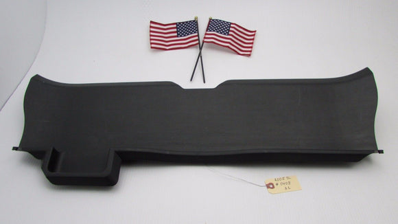 04 05 06 07 08 Acura TL Trunk Latch Cover Trim Black Rear Panel OEM