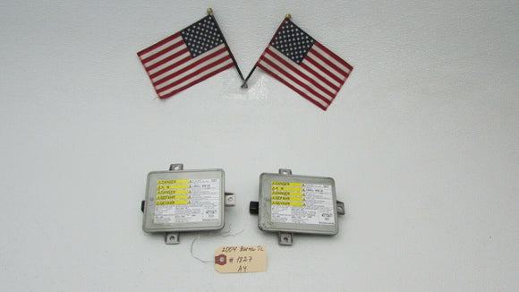 04 05 ACURA TL SET OF 2 FACTORY XENON HID HEADLIGHT BALLASTS UNIT 2004-2005 OEM