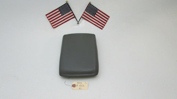 04 05 06 07 08 Acura TL Center Console Arm rest Armrest Leather Front Grey OEM