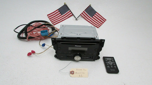 04-08 Acura TL Aftermarket Pioneer FH-S500BT Bluetooth CD Receiver Radio Player