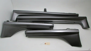 04-08 Acura TL Set Rocker Panel Moldings Driver & Passenger Side Skirts Trim OEM