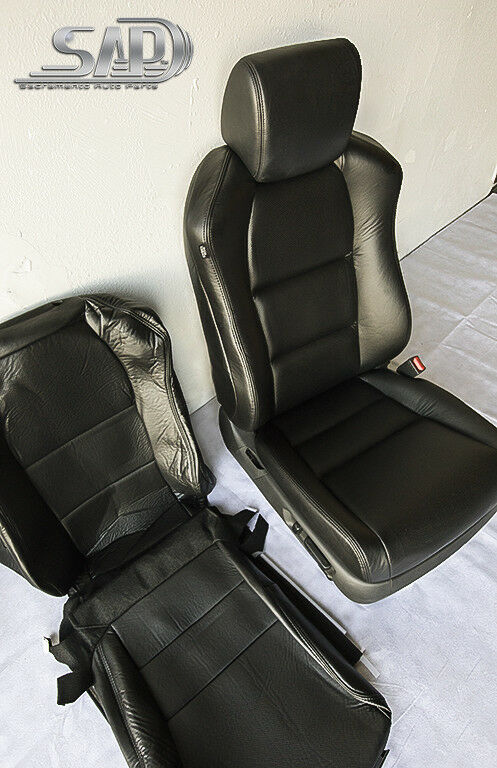For 04 Acura TL Passenger Side Seat Replacements Covers Perforated PU Leather