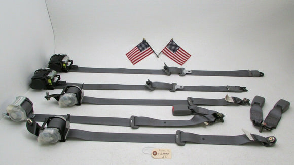 04 05 06 07 08 Acura TL FRONT&REAR LEFT RIGHT SEAT BELT SEATBELTS SET BUCKLE OEM