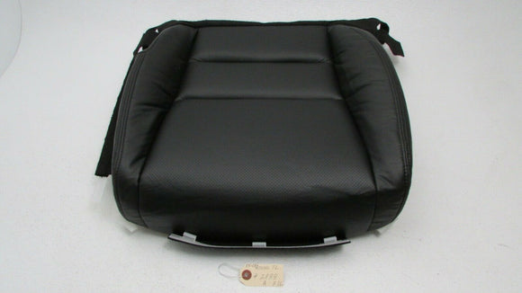 For 05-08 Acura TL Repaired Driver Seat Bottom Black PU Leather W/ Cushion Foam