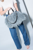 Katie XL : Mongolian Sheepskin Blue