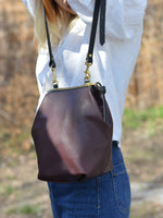 Alice Mini Shoulder Bag: Bordeaux