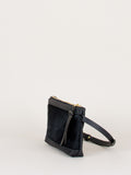 Amada Fanny Pack: Black fur