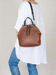Anni Large Shoulder Bag: Bronze