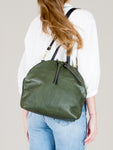 Anni Large Shoulder Bag: Olive
