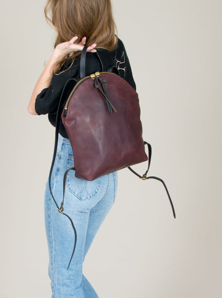 Anni Large Backpack: Bordeaux