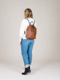 Anni Large Backpack: Bronze