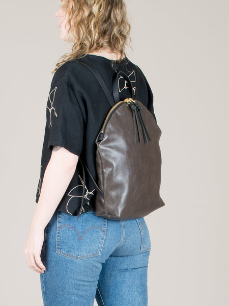 Anni Large Backpack: Steel
