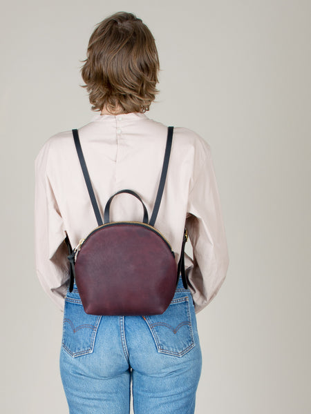 Anni Mini Backpack: Bordeaux