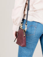 Anni Mini Mini Shoulder Bag: Bordeaux