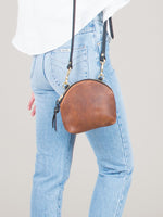 Anni Mini Mini Shoulder Bag: Bronze
