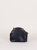 Anni Mini Mini Shoulder Bag: Black Fur
