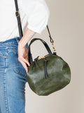 Katie Large Shoulder Bag: Olive