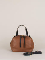 Katie Large Shoulder Bag: Bronze