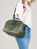 Katie XL Shoulder Bag: Olive