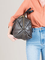 Katie XL Shoulder Bag: Steel