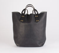 Romy Tote Bag: Salt & Pepper