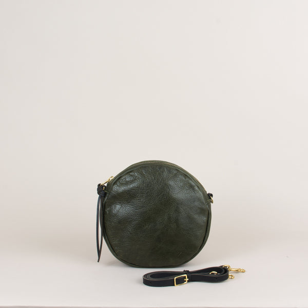 Emmy Circle Bag in Olive