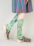 Run Pony Pony: Simple Clogs- Leopard