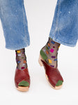 Crisscross Clogs - Oxblood