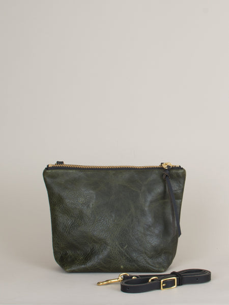Melissa Mini Shoulder Bag: Olive