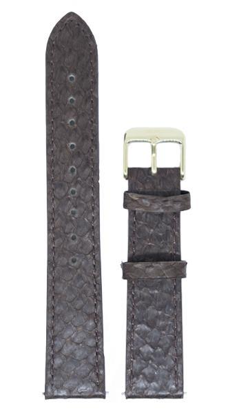 Berg Watches 16 MM Strap Brown Gold 16 MM Salmon Leather Strap