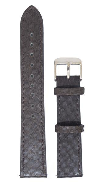Berg Watches 16 MM Strap Brown Rose Gold 16 MM Salmon Leather Strap