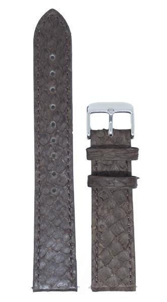 Berg Watches 16 MM Strap Brown Silver 16 MM Salmon Leather Strap