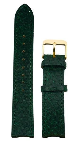 bergwatches 20 MM Strap Green Gold 20 MM Salmon Leather Strap