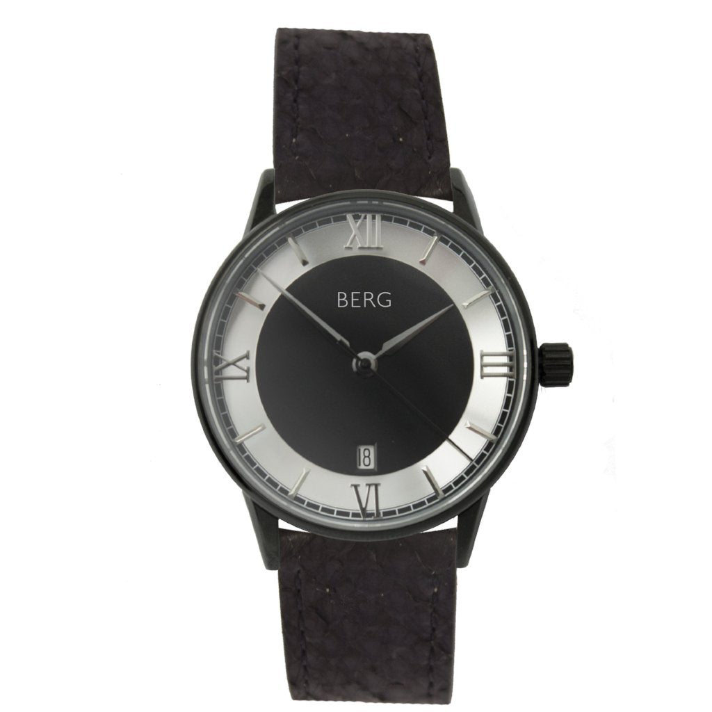 bergwatches Black HOLMENKOLLEN BLACK AUTOMATIC