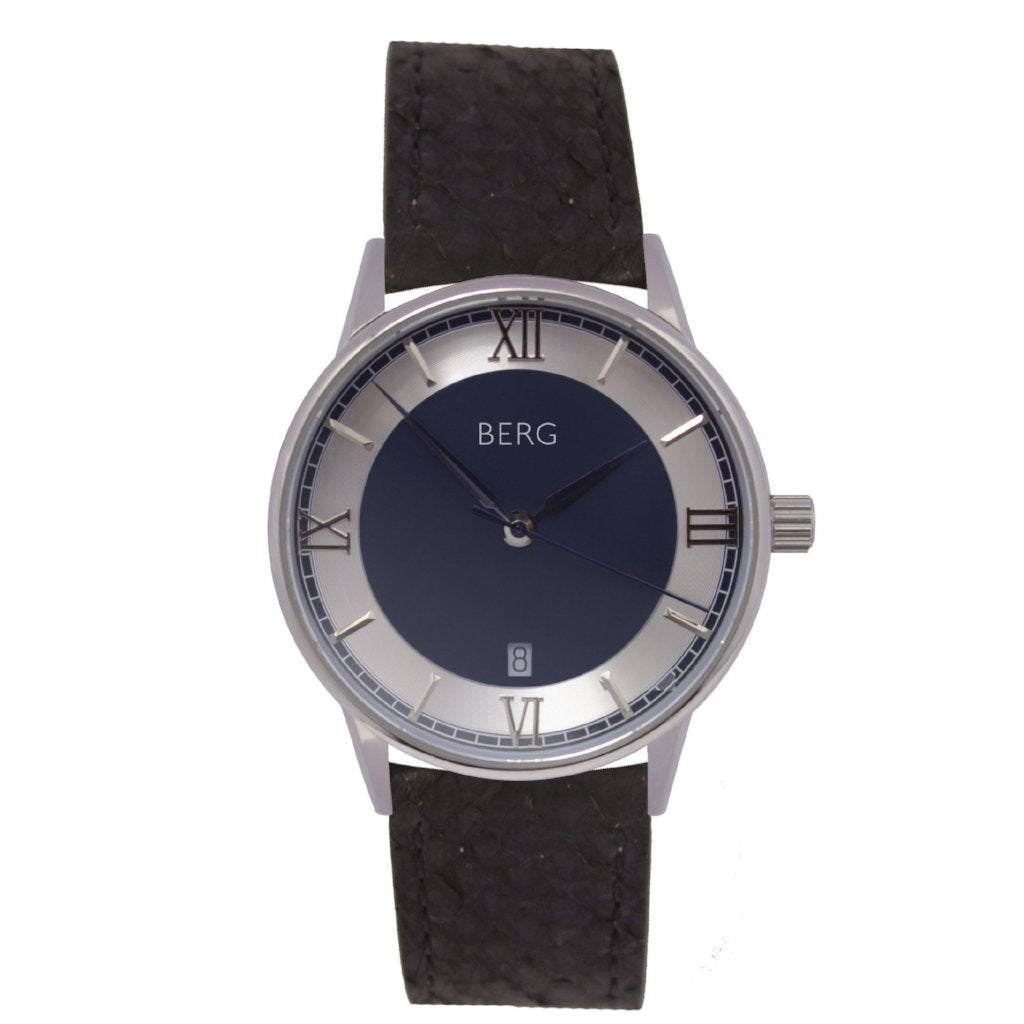 bergwatches Black HOLMENKOLLEN BLUE AUTOMATIC