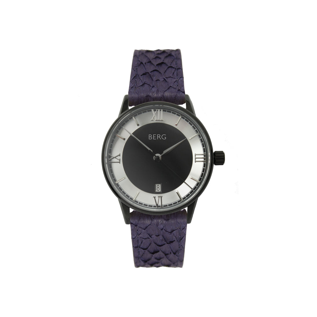 bergwatches Blue HOLMENKOLLEN BLACK AUTOMATIC