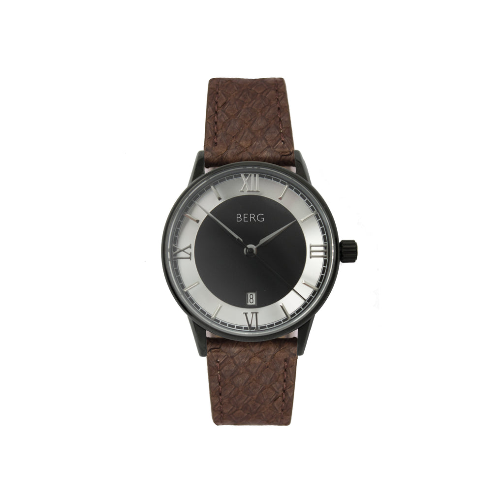 bergwatches Brown HOLMENKOLLEN BLACK AUTOMATIC