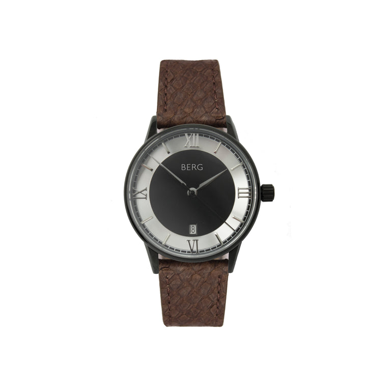 bergwatches Brown HOLMENKOLLEN BLACK QUARTZ