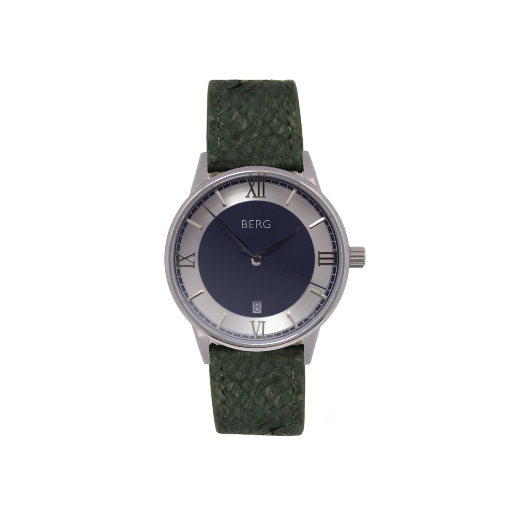 bergwatches Green HOLMENKOLLEN BLUE AUTOMATIC