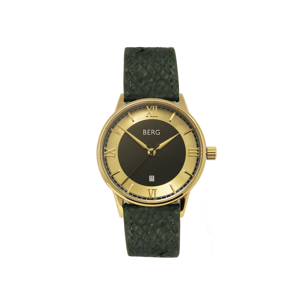 bergwatches Green HOLMENKOLLEN GREEN AUTOMATIC