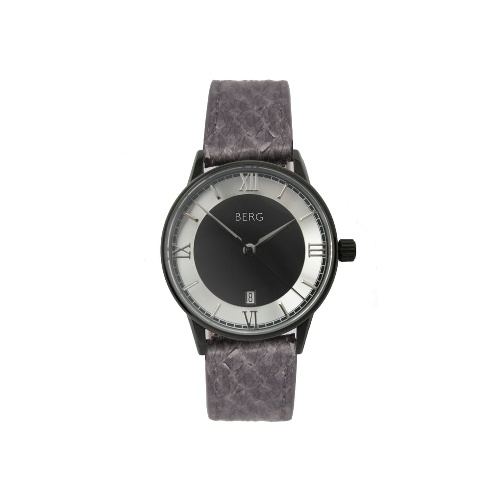 bergwatches Grey HOLMENKOLLEN BLACK QUARTZ