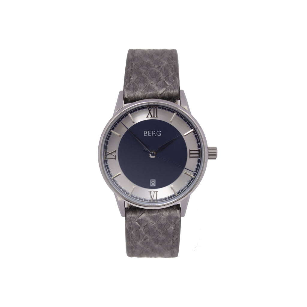 bergwatches Grey HOLMENKOLLEN BLUE QUARTZ